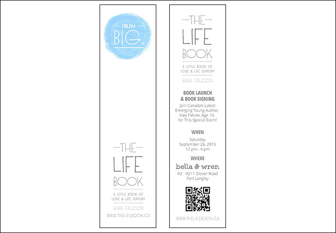 The Life Book Bookmarks